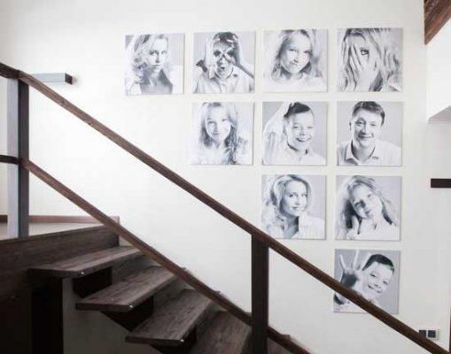 Unik-Interior-Designs-Venture-Woodland-Hills-Westlake-CA-Arranging-Wall-Art