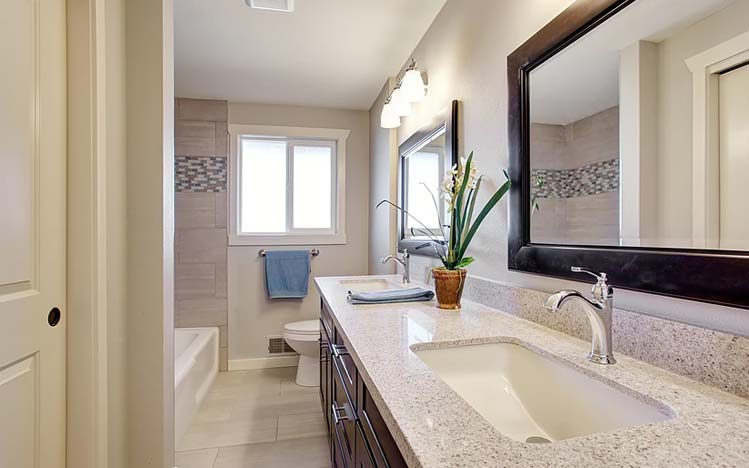 Contemporary Yet Classic Remodel Unik Interior Design Woodland Hills - Bathroom remodeling woodland hills ca